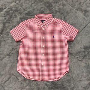 🇱🇷 Boy button up  shirt size 5 Ralph Lauren Polo